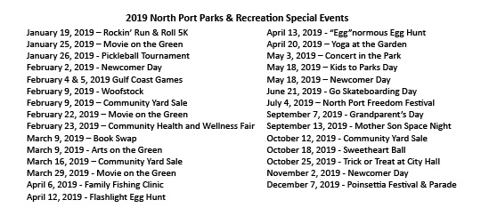 2018 Special Events
