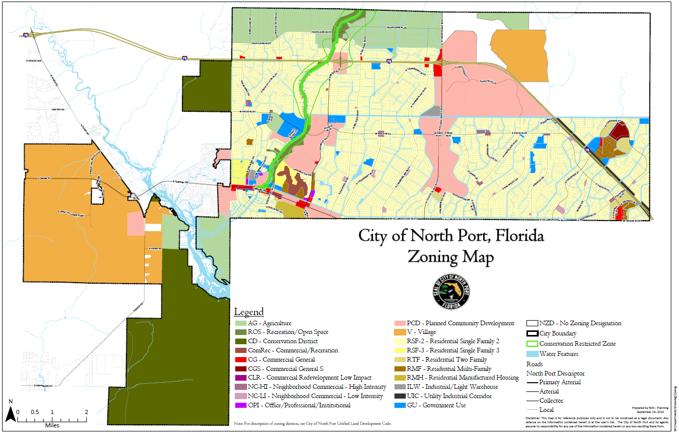 North Port Florida Map.Maps North Port Fl