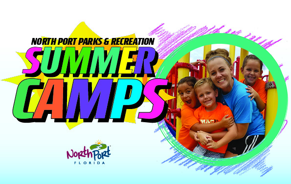Campers in in the Summer Camp Program 2019