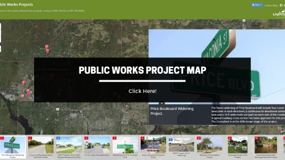 Public Works Projects Map