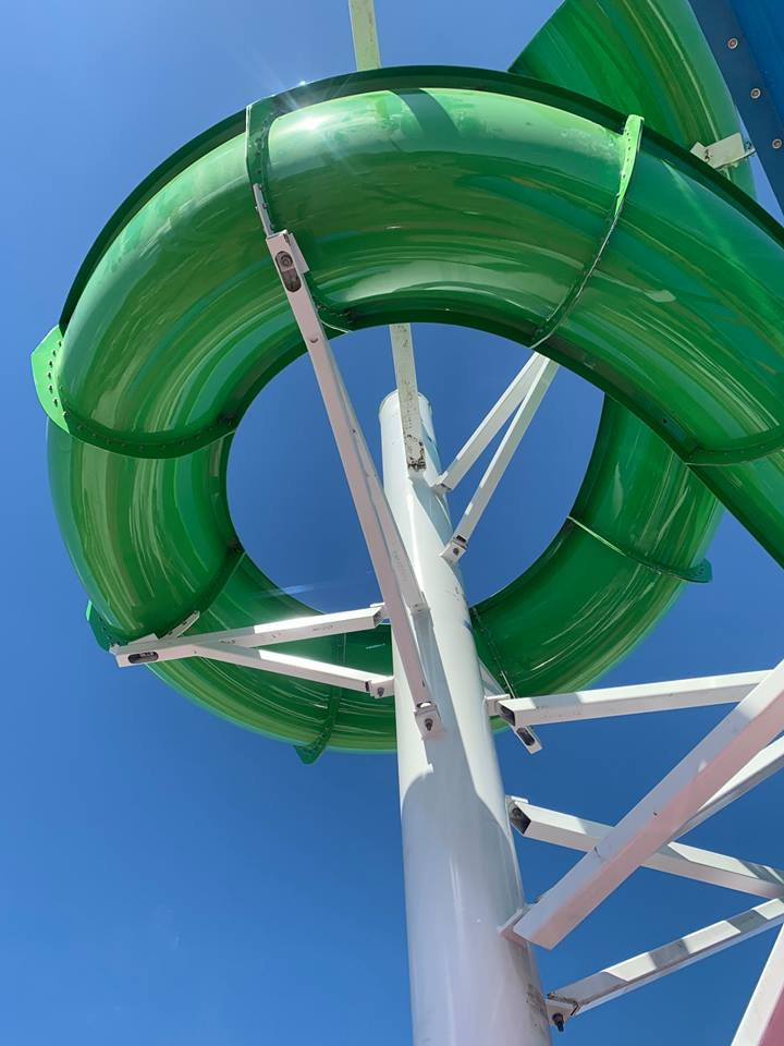 Aquatic Center Slide