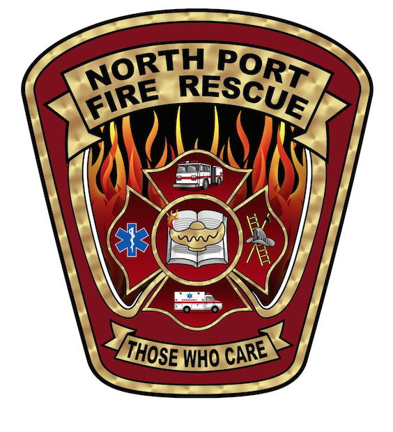 Shoulder Patch of North Port Fire Rescue