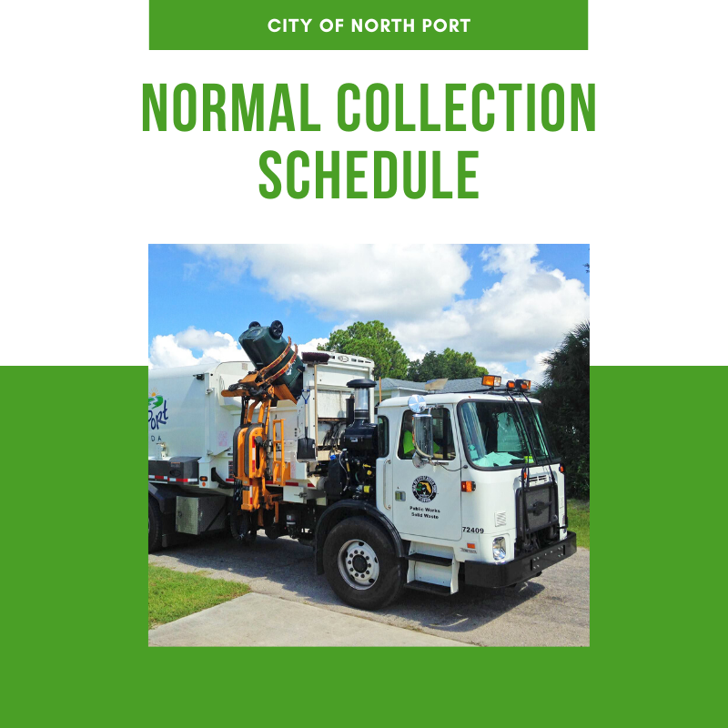 MLK Day Normal Collection Schedule