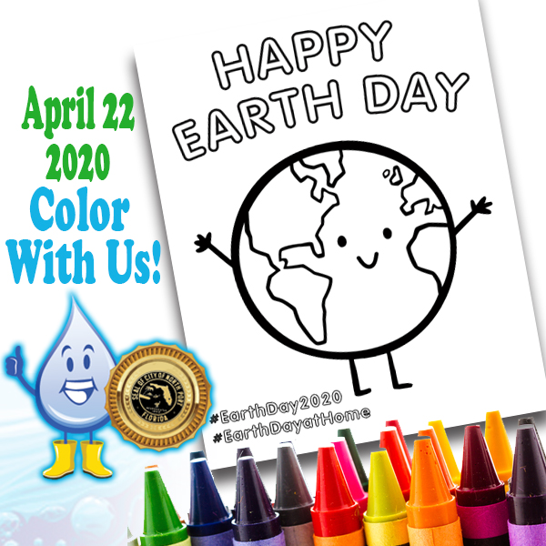 Earth Day Color with Us