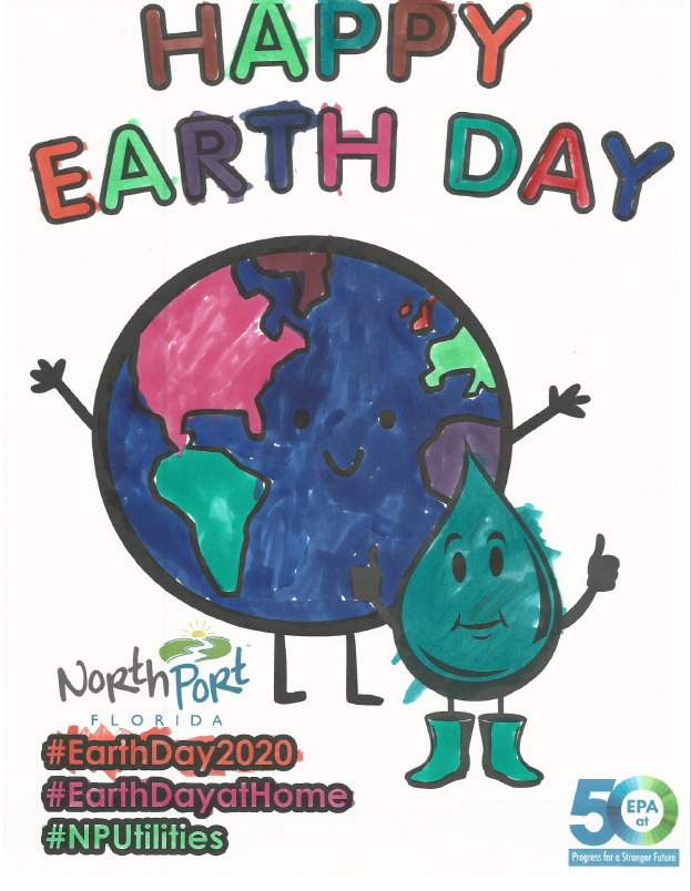 Earth Day Poster Submission - Liam 6yo