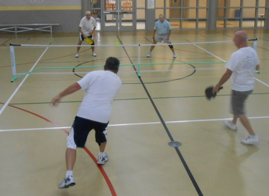 Pickleball at Mullen