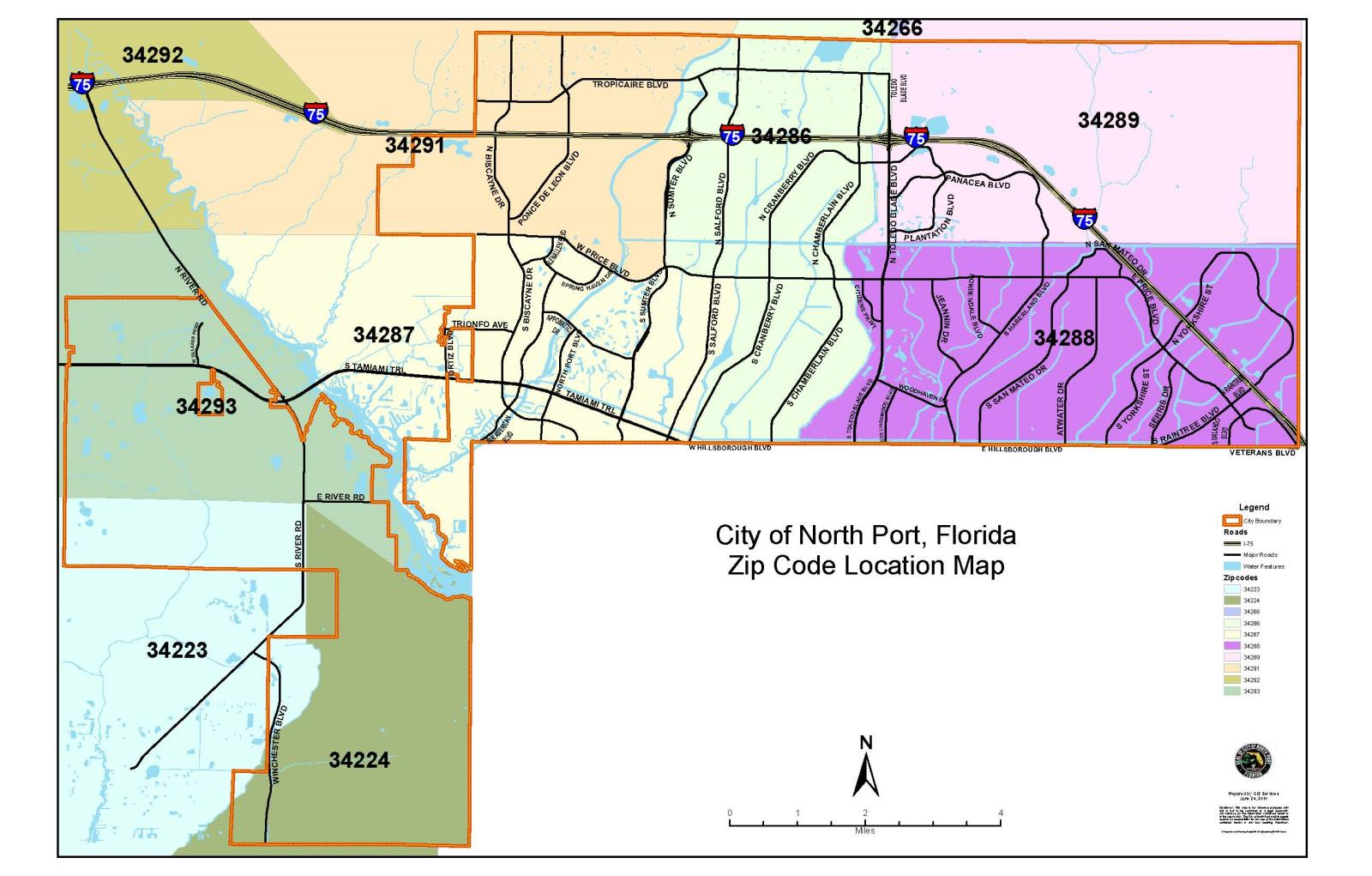 Ada Ok Zip Code Map.Maps North Port Fl